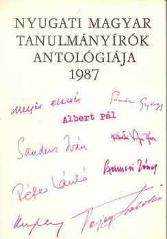 Nyugati magyar esszéírók antológiája - 1987