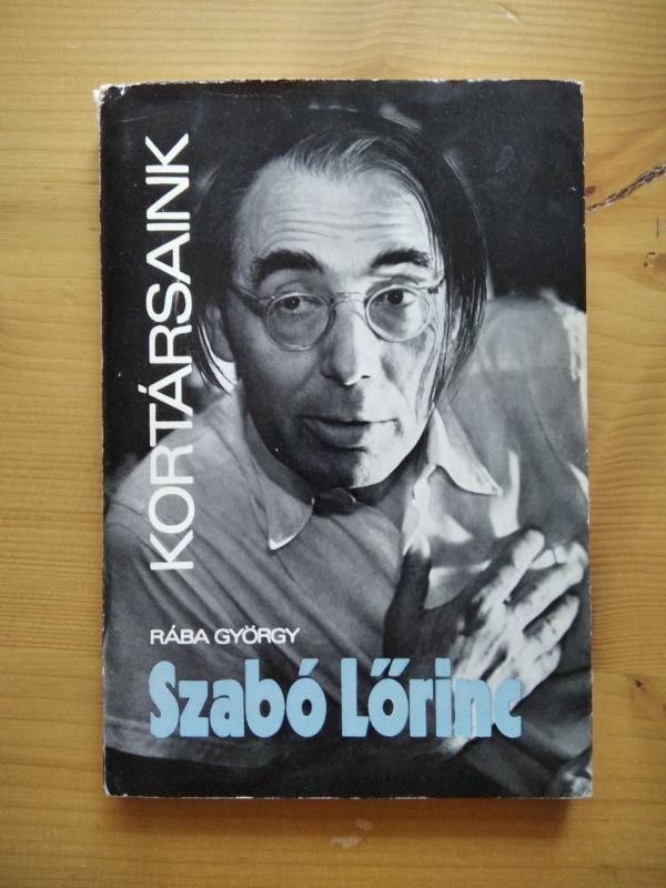 Rába György: Szabó Lőrinc
