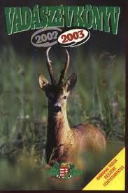 Vadászévkönyv 2002/2003