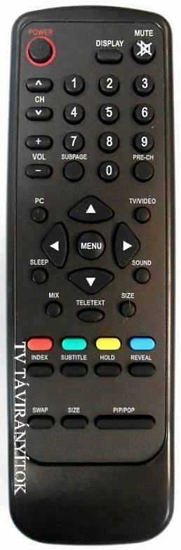 098TRABD2NT D AOC/THOMSON/TELEFUNKEN távirányító
