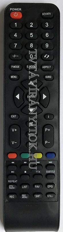 LED-V22ZS04DCF, V22ZS04DCF VORTEX TÁVIRÁNYÍTÓ
