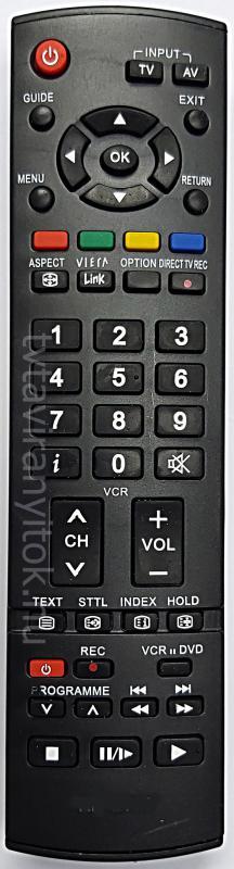 PANASONIC VIERA LCD TV TÁVIRÁNYÍTÓ