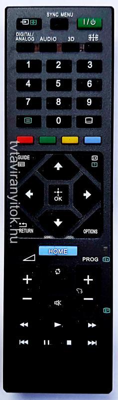 RM-ED054, RMED054, RM-ED062, RMT-TX SONY TÁVIRÁNYÍTÓ UTÁNGYÁRTOTT LCD/TFT TV SONY
