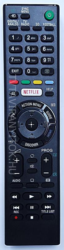 RMT-TX100D, SONY SMART, NETFLIX