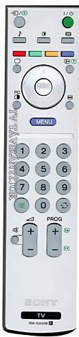 Sony után gyártott távirányító RM-EA006