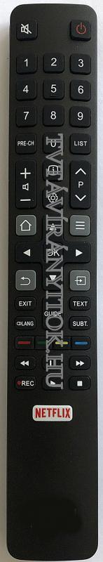 TCL távirányító az LCD TV-hez , TCL  (RC802N, RC3000), SMART, NETFLIX