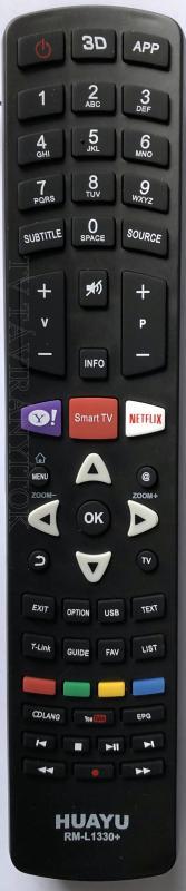 THOMSON RM-L1330+ (Thomson) 3D, intelligens - LCD / LED TV TÁVIRÁNYÍTÓ