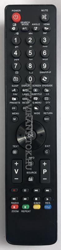 UNIVERZÁLIS VESTEL LCD / LED TELEFUNKEN TV távirányító
