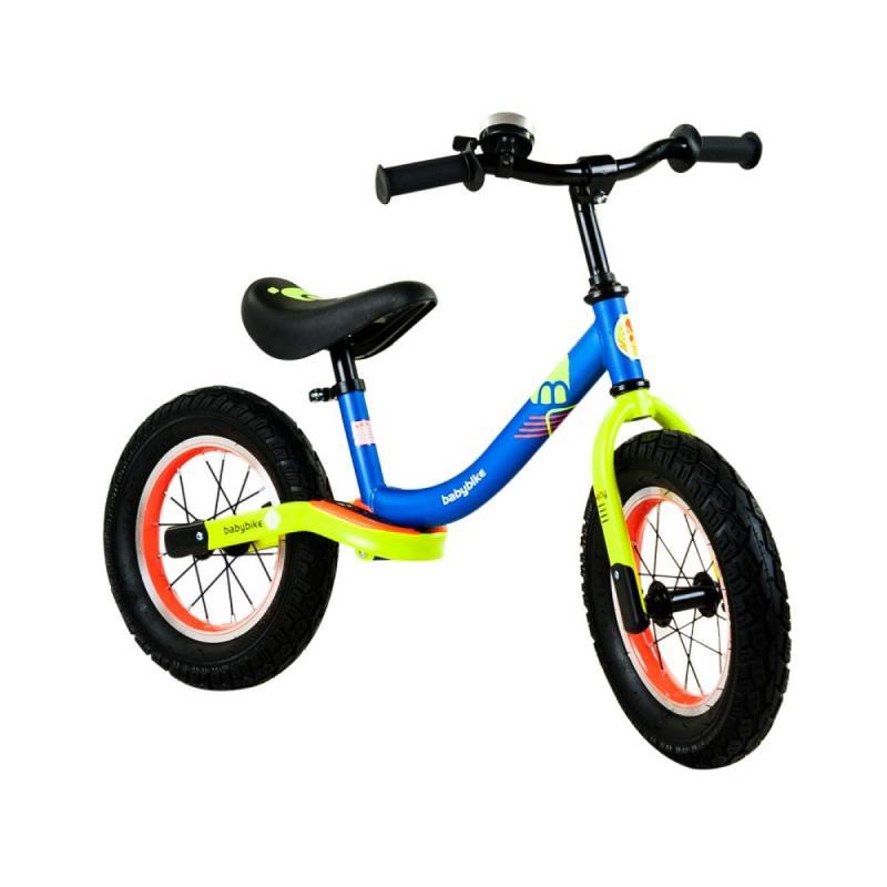 Babybike futóbicikli, kék-neonsárga, BR19075