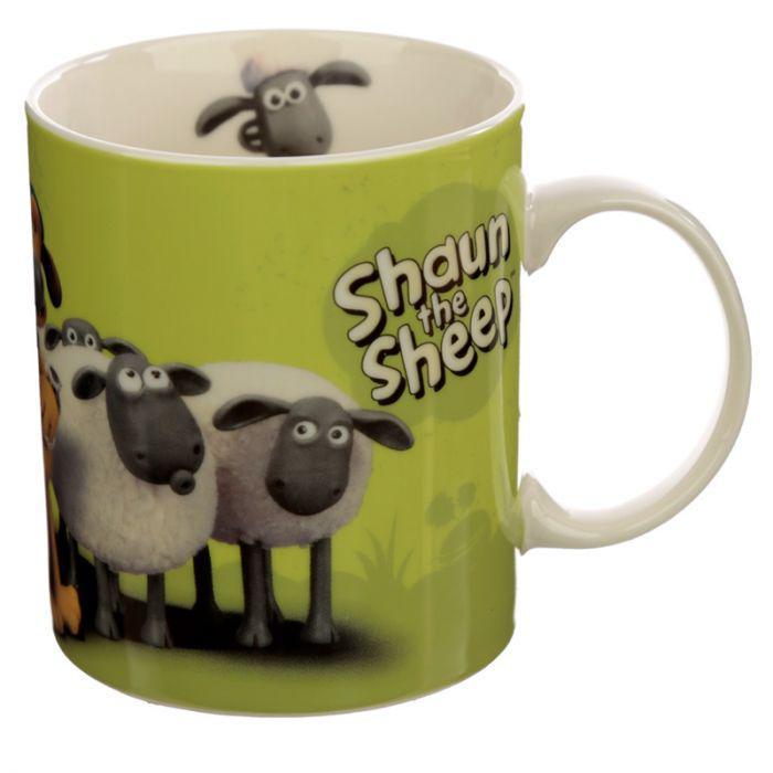 Bögre - Shaun a Bárány - Zöld
