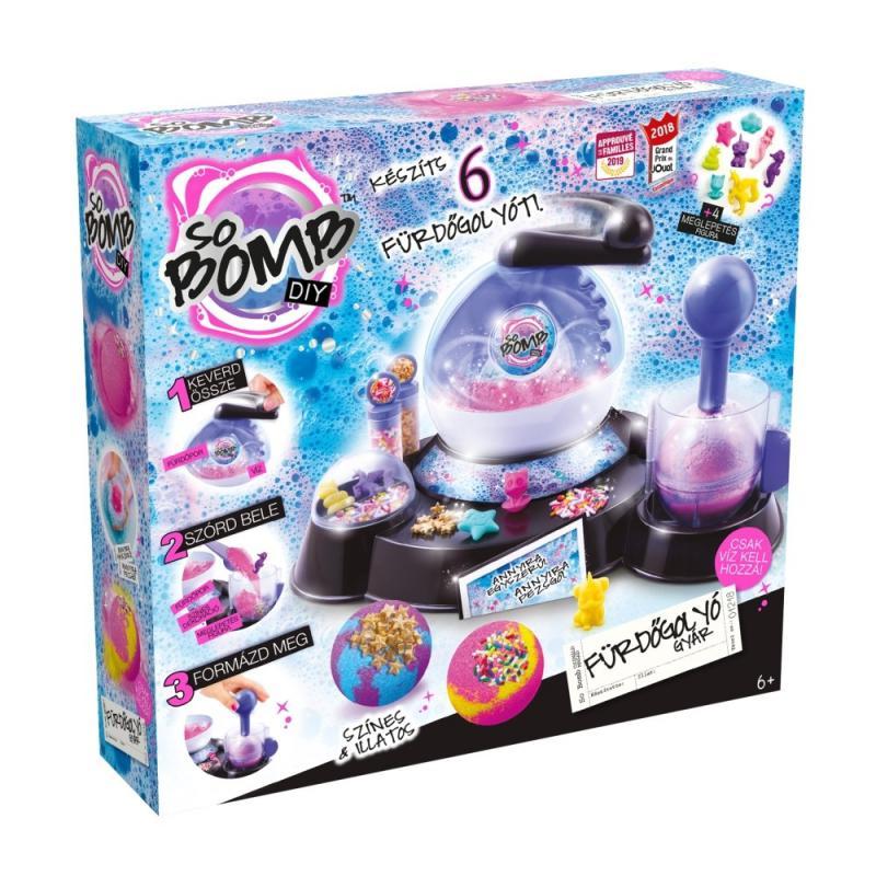 Canal Toys So Bomb fürdőgolyó gyár - fürdőbomba készítés mesterfokon