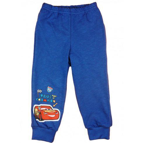 Cars/ Verdák vékony pamut fiú szabadidő nadrág, 128 cm