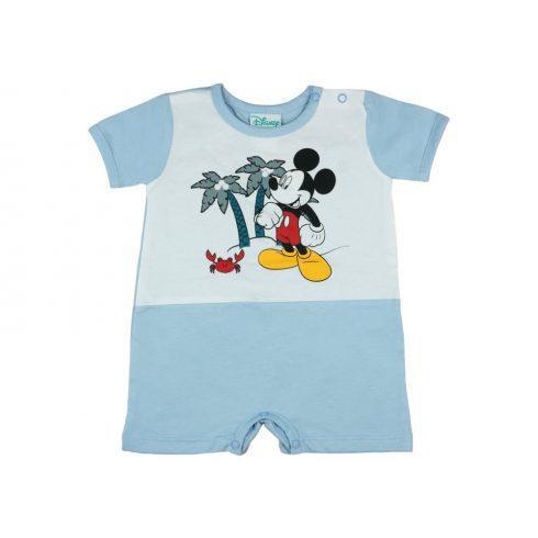 Disney Mickey rövid ujjú baba napozó, 68 cm /kék/