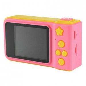 Kids Cam - Digitális fényképezőgép gyerekeknek - rózsaszín