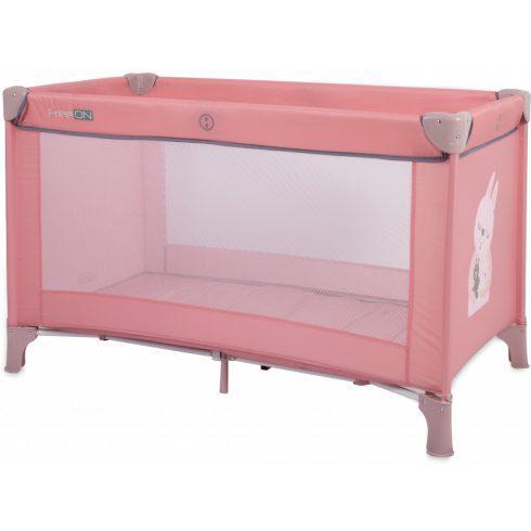 Freeon love utazóágy - rózsaszín nyuszi