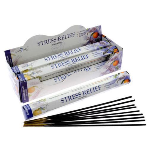 Füstölőpálca, Stamford Aromaterápia - Stresszoldó, 20db/csomag