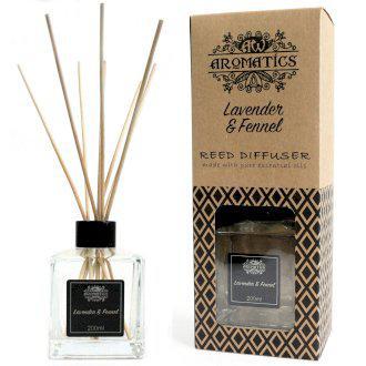 Levendula és Édeskömény Aroma Diffúzor Bambuszpálcikákkal 200ml