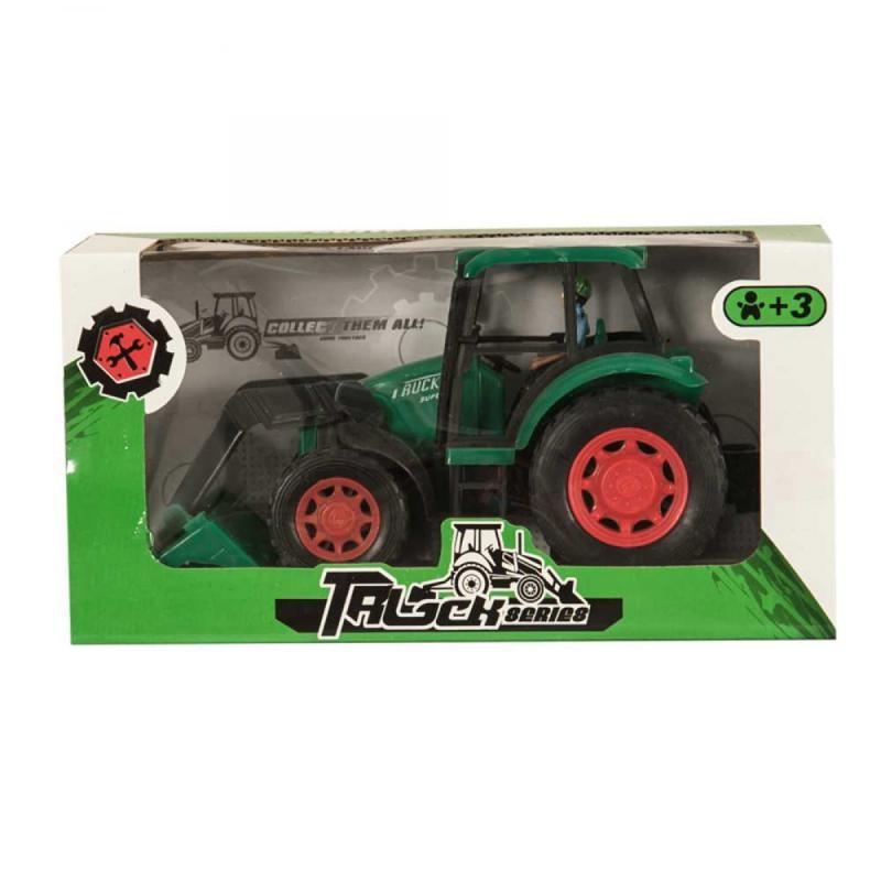 Markolós traktor, zöld