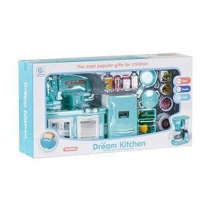 MK Toys Zenélő mini konyha, kiegészítőkkel