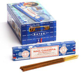 Nag Champa füstölőpálcika, 15g