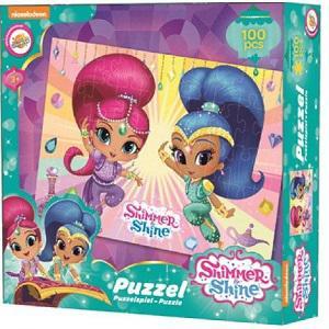 Nickelodeon, Shimmer és Shine puzzle 100 db-os