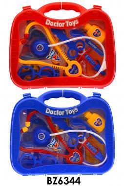 Orvosi készlet, bőröndös