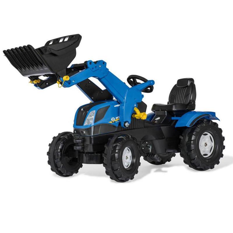 Rolly FarmTrac New Holland pedálos traktor markolóval