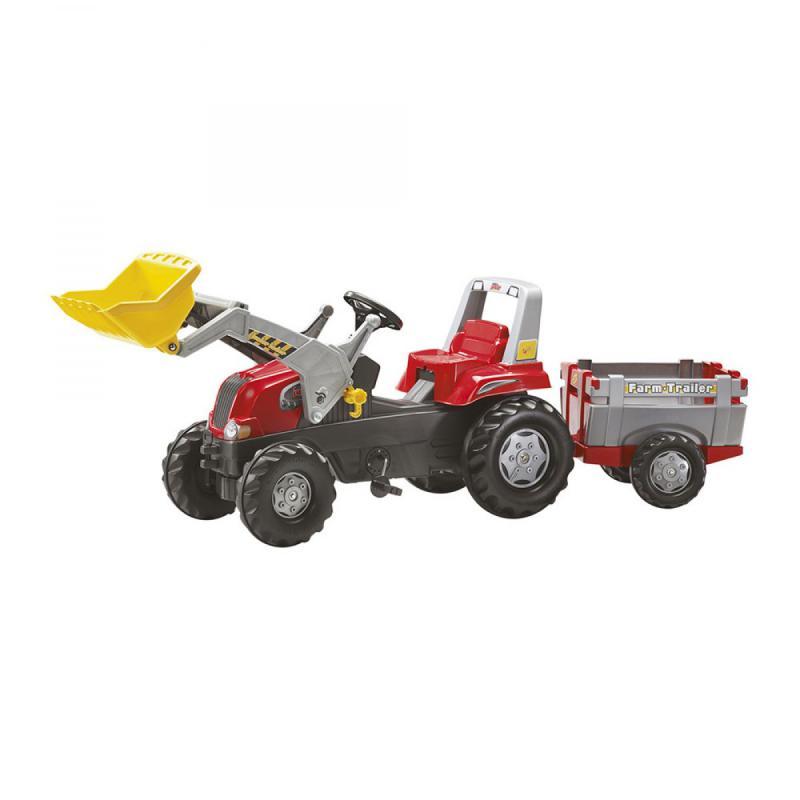 Rolly Junior pedálos markolós traktor utánfutóval Típus: RO-811397