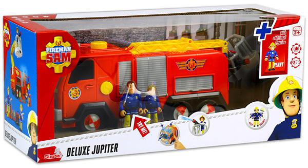 Sam a tűzoltó: Jupiter élethű tűzoltóautó két figurával
