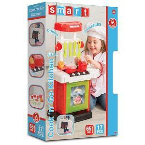 Smart Cook'n'Go játékkonyha, 17 kiegészítővel