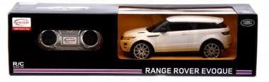 Távirányítós (R/C) autó, fehér Range Rover Evoque