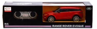 Távirányítós (R/C) autó,piros Range Rover Evoque