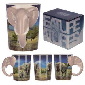 Bögre - Elefánt Füllel