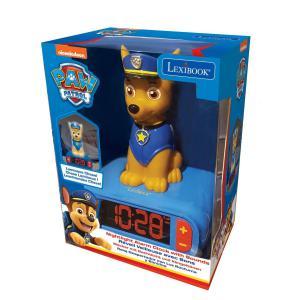 Lexibook Mancs őrjárat/Paw Patrol ébresztőóra éjszakai fénnyel és hangeffekttel