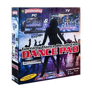 Vegatoys Dance Revolution táncszőnyeg, PC-re és TV-re csatlakoztatható
