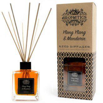 Ylang Ylang és Mandarin Aroma Diffúzor Bambuszpálcikákkal 200ml