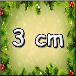 3 cm-es figurák