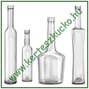 Pálinkás üvegek, Díszüvegek, Kapszulák
