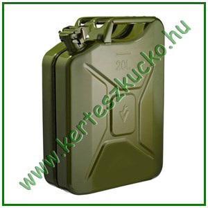 Benzines kanna 20 literes fém, üzemanyag kanna