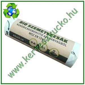 BIO Szemeteszsák ökozsák 10 literes (10 tekercs=100 db)