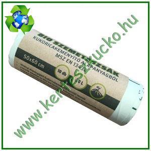 BIO Szemeteszsák ökozsák 30 literes (5 tekercs=50 db)