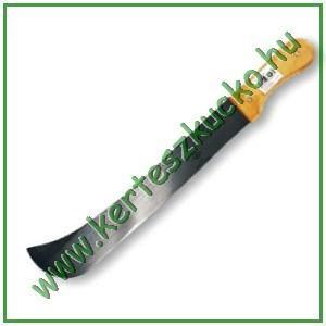 Bozótvágó kés (400 mm, külső élű, fa nyél)
