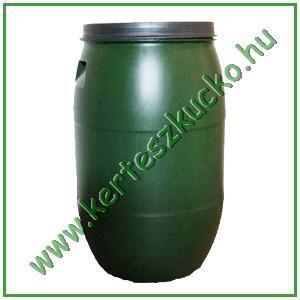 Esővízgyűjtő hordó (220 literes, pattintós tető)