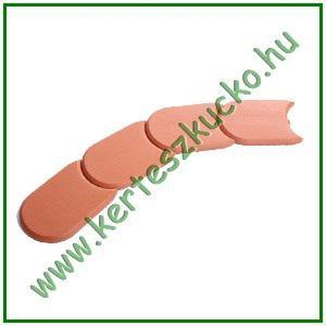 Ágyásszegély, műanyag 1,9 m TERRACOTTA (IPAK2S)