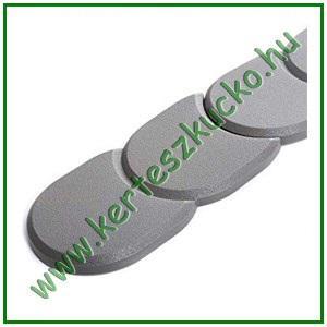 Ágyásszegély, műanyag 3,8 m SZÜRKE (IPAK2)