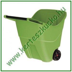 Kerti kocsi 85 literes műanyag ZÖLD - PROSPERPLAST IWO85