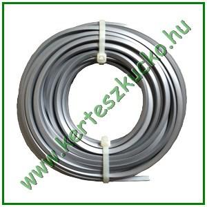 Fűnyíródamil (nylon+alumínium, 2,7 mm x  15 m)