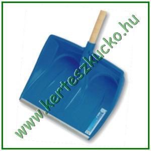 Hólapát, műanyag, 410 mm, alu. élvédős, D-markolat (ILE1A ERGONOMIC)