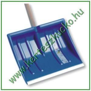 Hólapát, műanyag, 410 mm, alumínium élvédős, D-markolat (IL1A)
