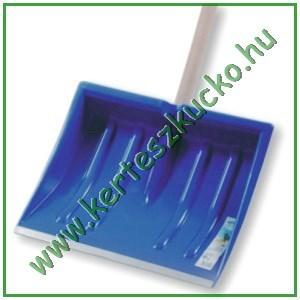 Hólapát, műanyag, 410 mm, horg. élvédős, D-markolat (IL1)